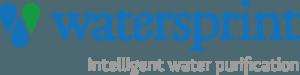 Logotyp för Watersprint vattenrening
